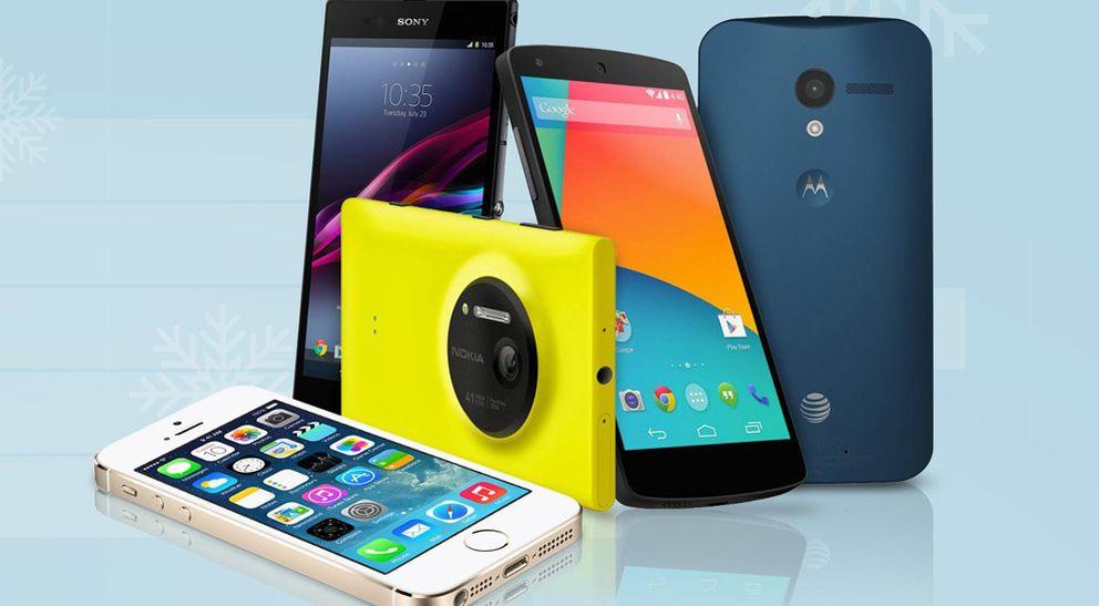 Foto: Adiós a la crisis, se dispara la venta de 'smartphones' en España