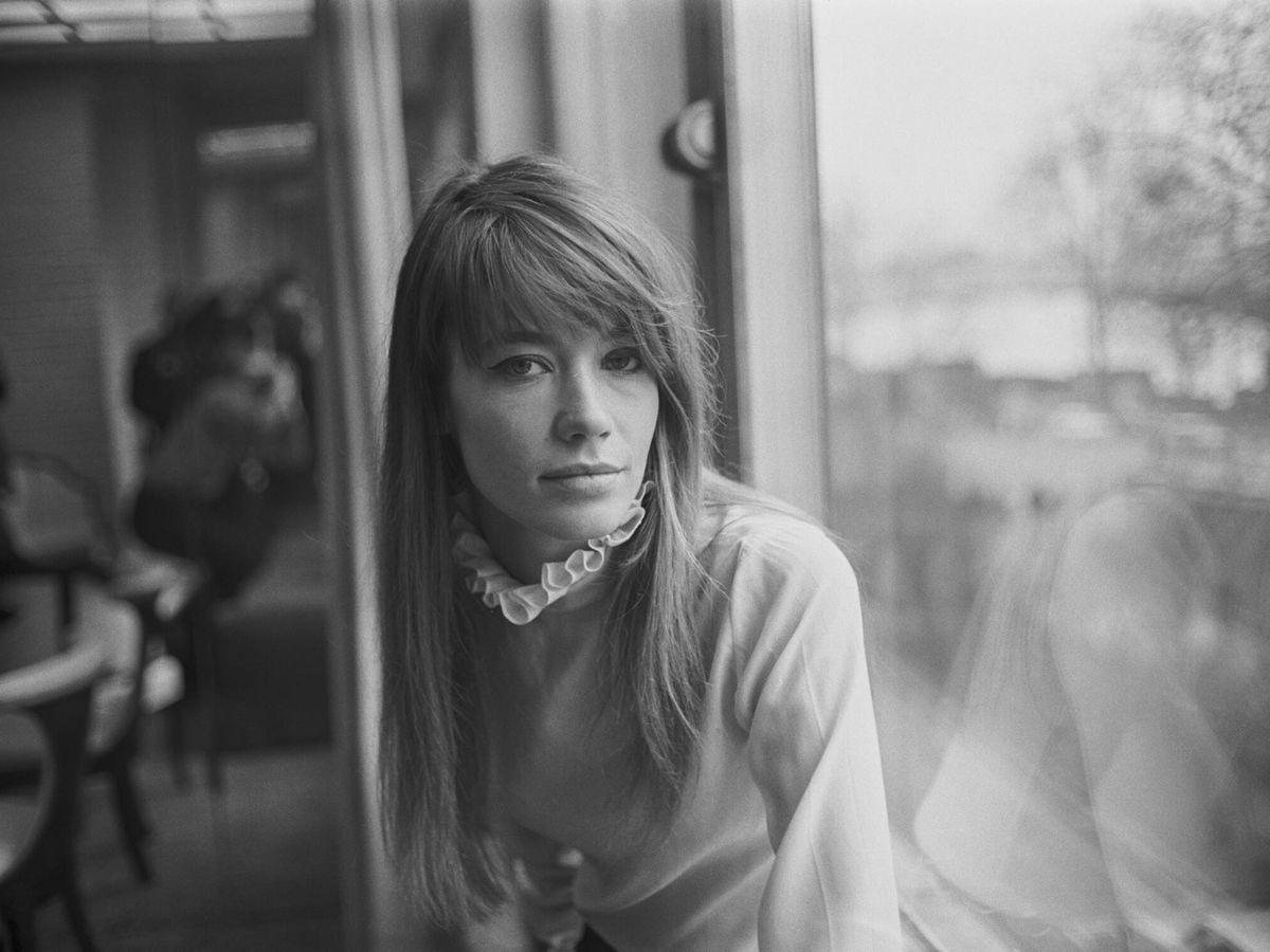 Foto:  Françoise Hardy, en una imagen de 1968. (Getty)