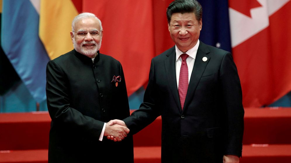 Foto: Narendra Modi y Xi Jinping. (Reuters)