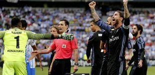 Post de Cristiano no deja espacio a los nervios y le da al Madrid la trigésimo tercera Liga