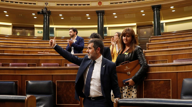 El Congreso deja sin grupo a JxCAT y permite el de ERC sin Junqueras al frente