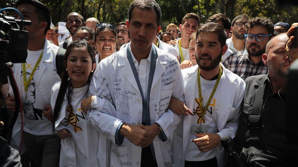 Foto: La jornada de protestas en Venezuela, en imágenes