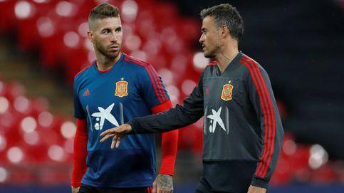 El repentino amor de Luis Enrique por Sergio Ramos en la Selección