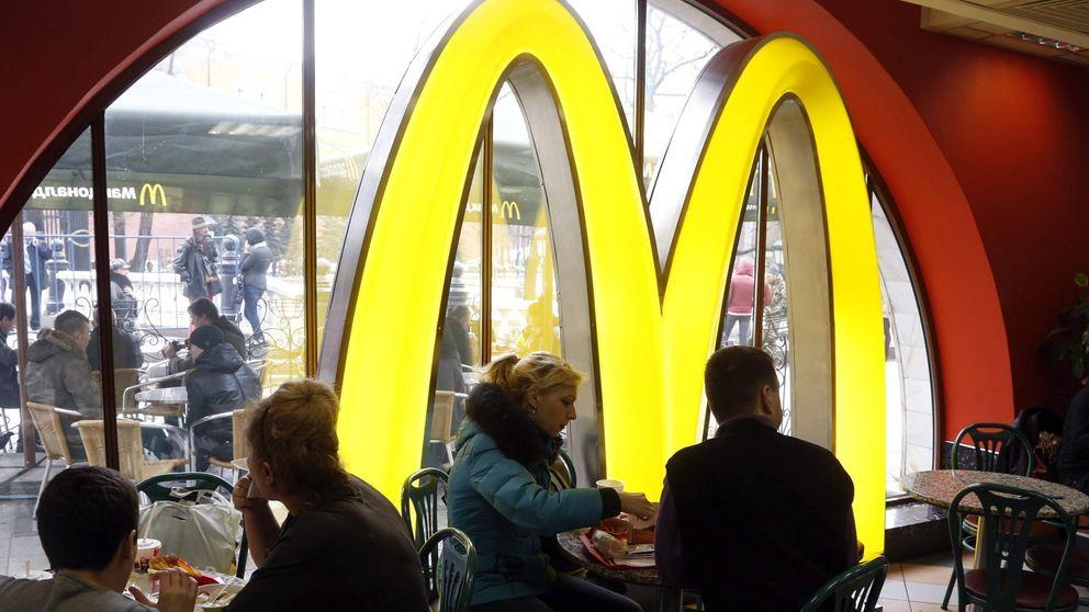 McDonald's se atraganta en bolsa tras la fuerte caída de sus ventas