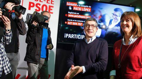 López ancla su discurso en el centro para parar el choque de trenes de Sánchez y Díaz
