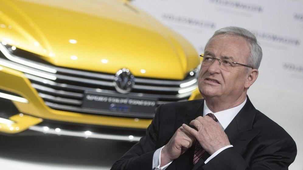 Foto: El presidente de Volkswagen, Marin Winterkorn. confirma un beneficio de 11.068 millones.
