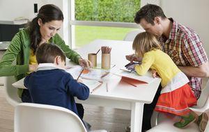 Pares y padres: las influencias que tienen los niños durante la escuela