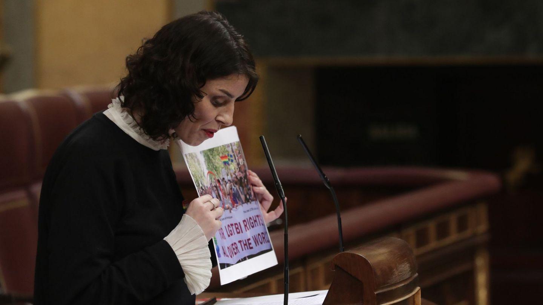 María del Mar García Puig, en el Congreso de los Diputados. (EFE)