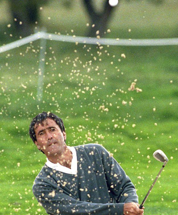 Foto: Ballesteros, en un Open de España. (EFE)