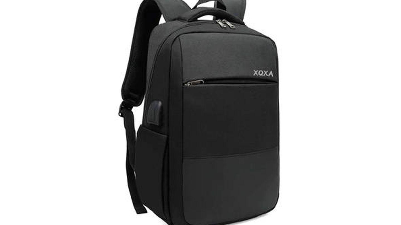 Mochila para portátil con cierre antirrobo y conector para auriculares XQXA
