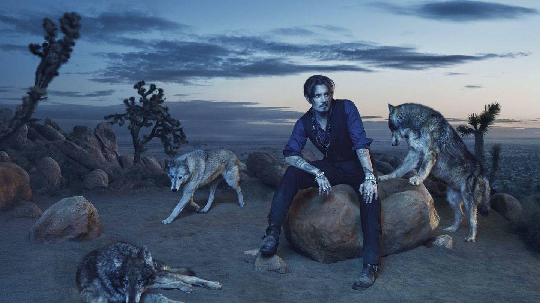 Johnny, el macho alfa de la manada de lobos solitarios. (Foto: Simon Davidson para Parfums CHRISTIAN Dior)