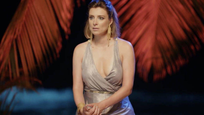 Sandra Barneda, en 'La isla de las tentaciones'. (Telecinco)