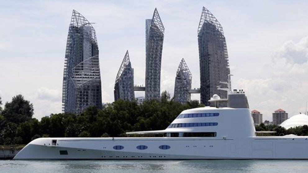 La guerra de los millonarios por exhibir el yate más largo del mundo