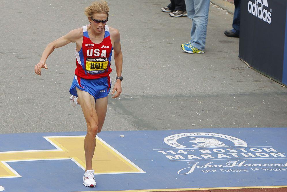 Foto: Ryan Hall en la maratón de Boston de 2010 (Reuters).