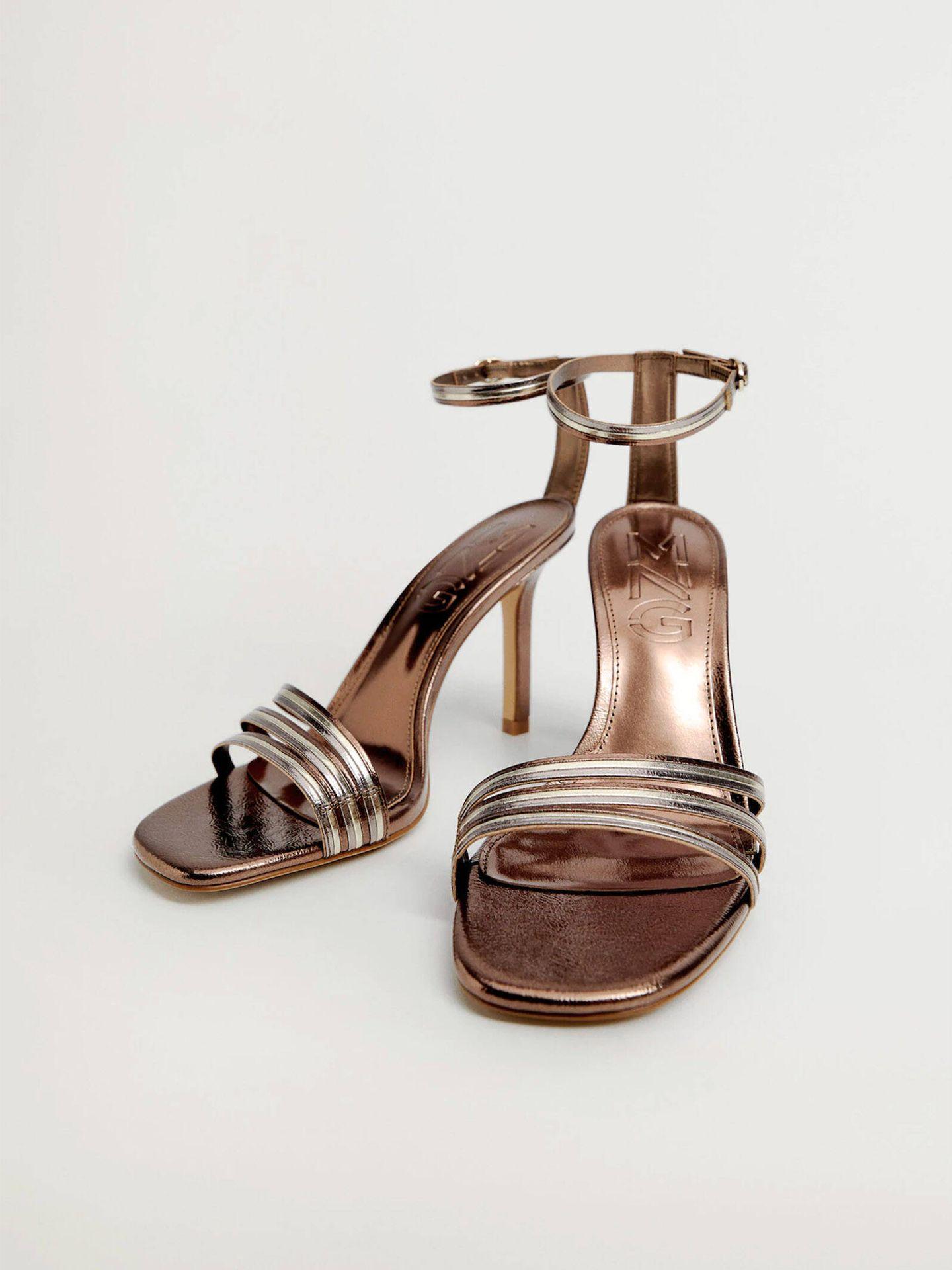 Descubre estas sandalias rebajadas de Mango. (Cortesía)