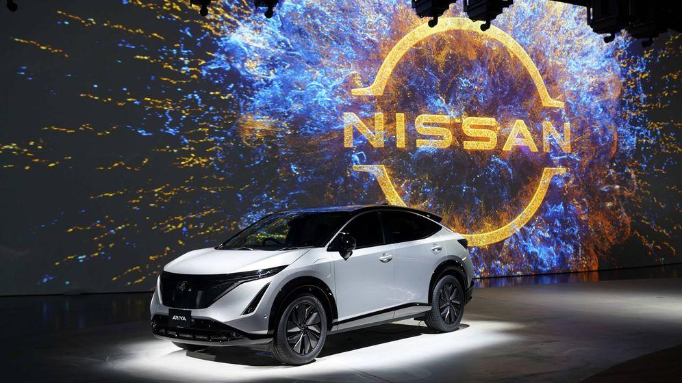 Foto: Momento de la presentación mundial del Nissan Ariya desde la sede de Yokohama.