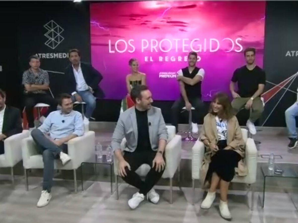 Foto: Parte del equipo de 'Los protegidos. El regreso'. (Atresmedia)
