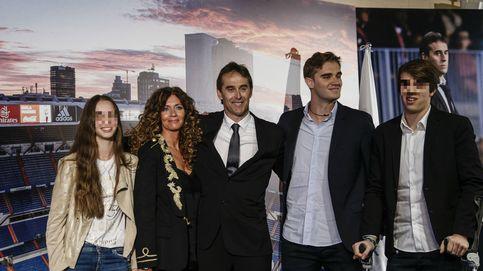 La familia de Julen Lopetegui, su mejor apoyo en los momentos difíciles