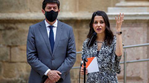 La descomposición de Cs en Andalucía pone en jaque su pacto en la Junta