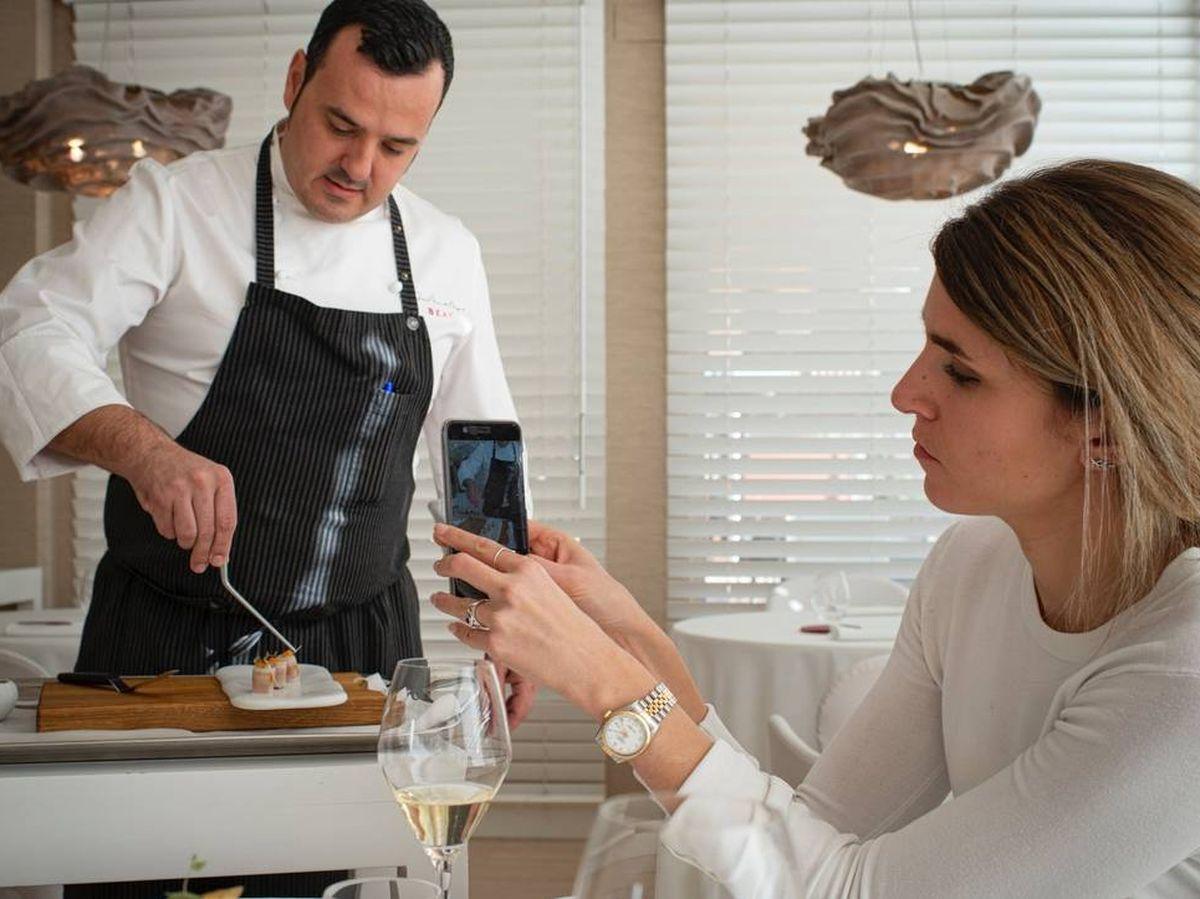 Foto: José Manuel de Miguel dirige el restaurante Beat y el resto de oferta gastronómica del hotel Cookbook en Calpe (Alicante).
