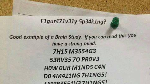 La imagen viral que desvela cómo funciona nuestra mente cuando leemos