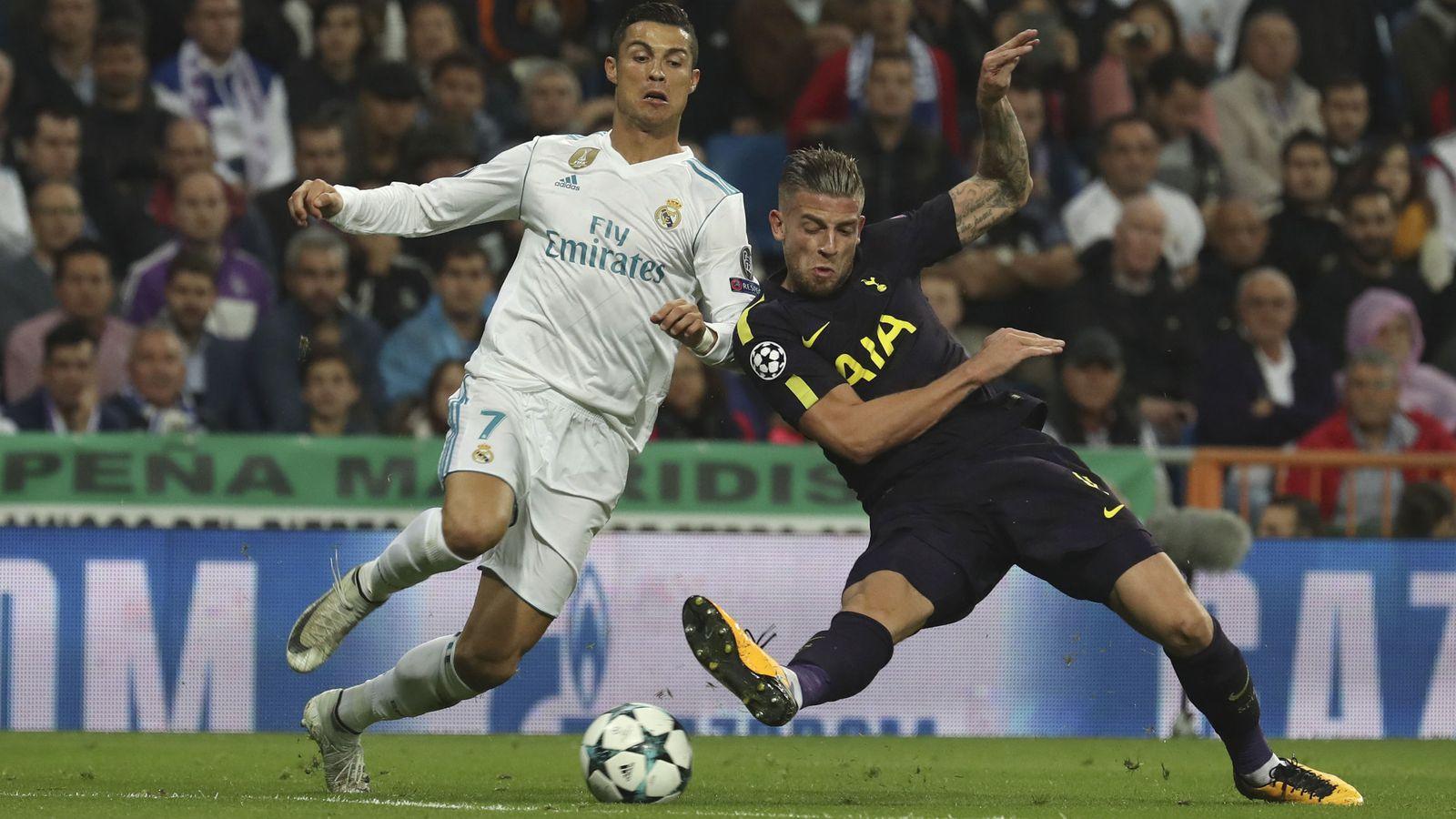 Foto: El Real Madrid no pudo pasar del empate contra el Tottenham. (EFE)