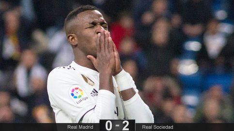 El Real Madrid del fútbol insuficiente se topa ahora con el calamitoso uso del VAR