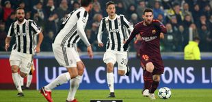Post de Sin Messi, sin gracia y sin esfuerzo, el Barça empata en Turín y gana su grupo