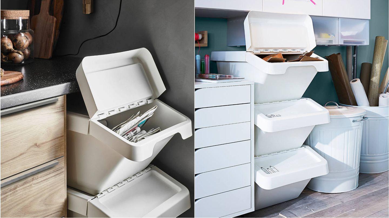Soluciones para reciclar de Ikea. (Cortesía)