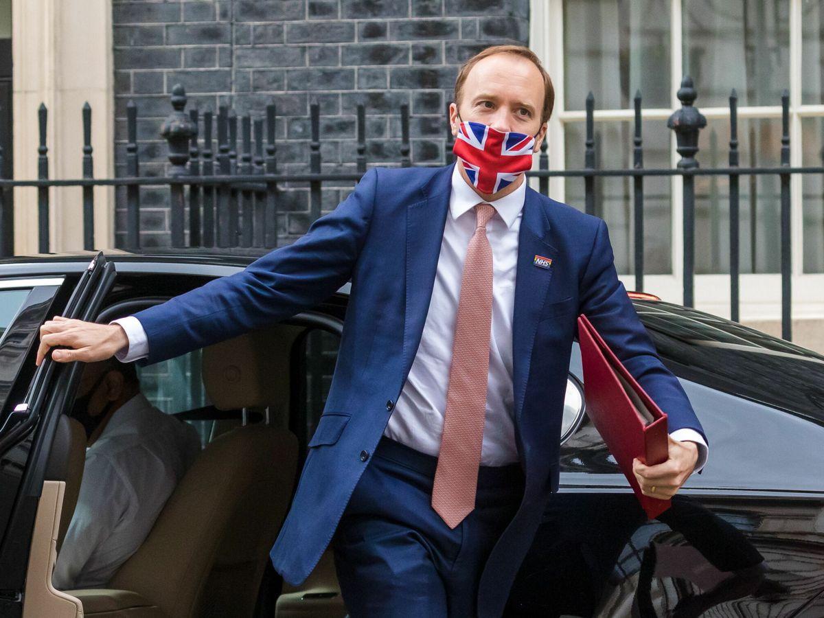 Foto: El exministro de Sanidad británico, Matt Hancock. (EFE)