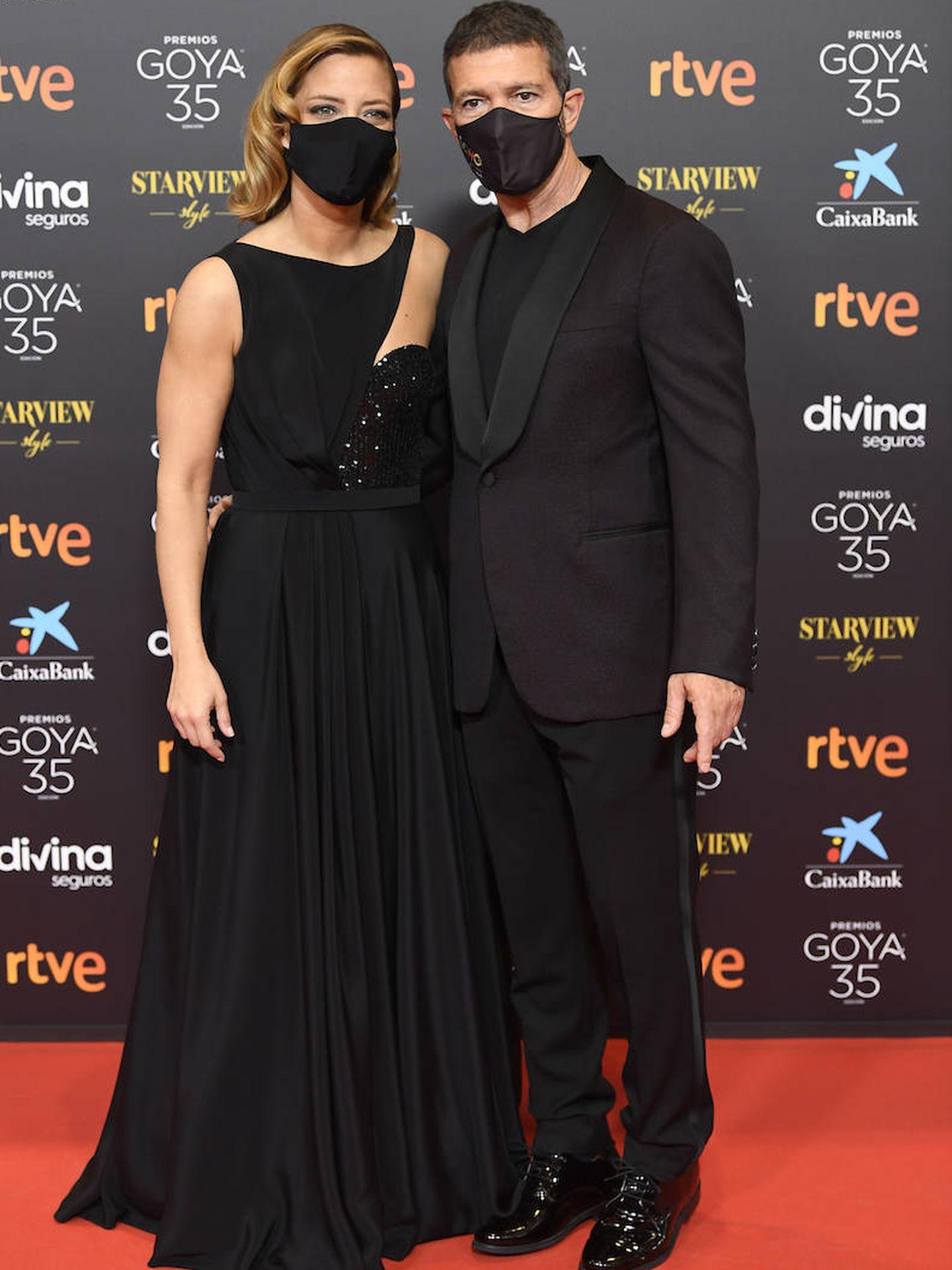 Antonio Banderas y María Casado. (Limited Pictures)