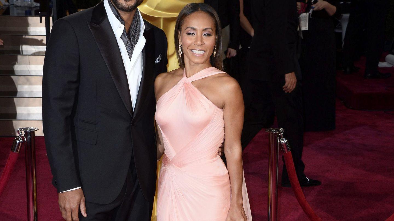 Will Smith con su mujer en una imagen de archivo en la gala de los Oscar. (EFE)