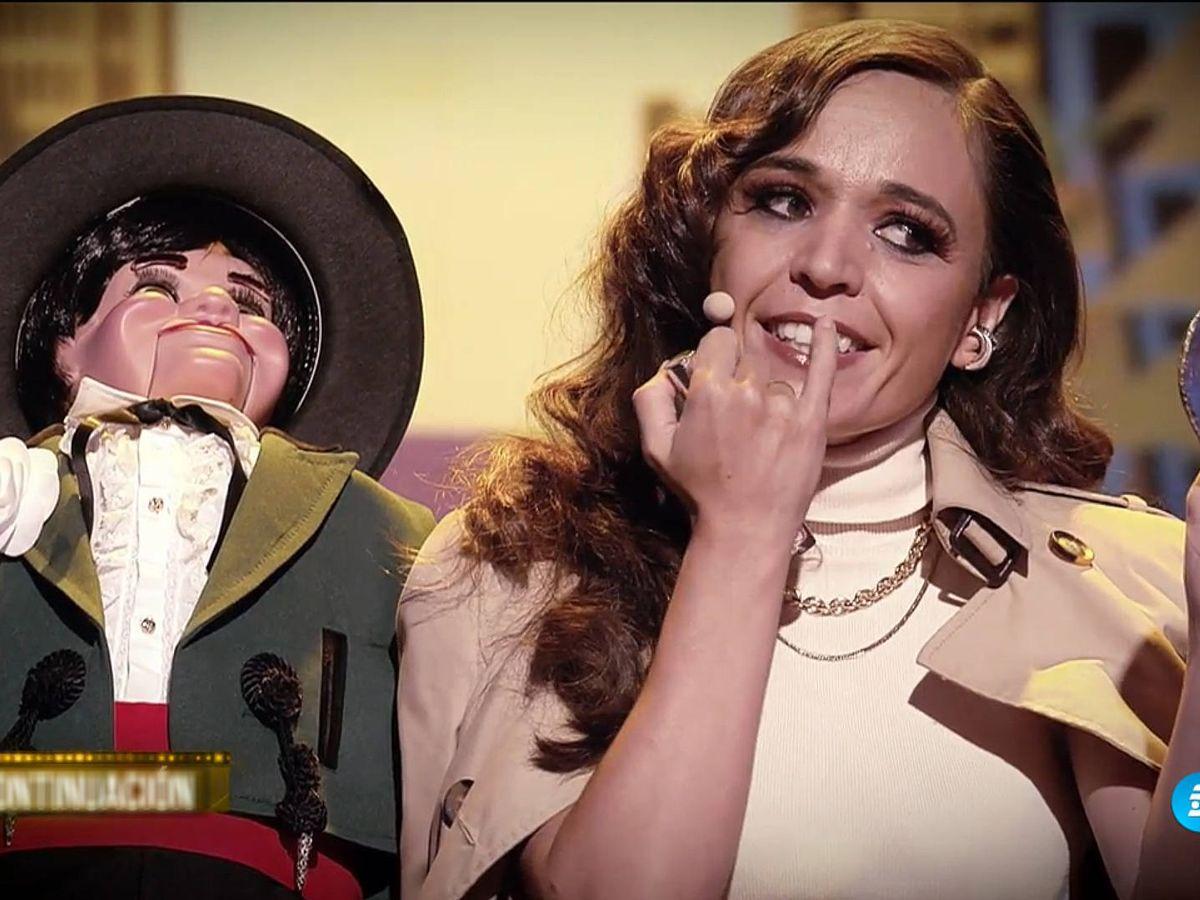 Foto: Celia Muñoz, ganadora de 'Got Talent'. (Mediaset)