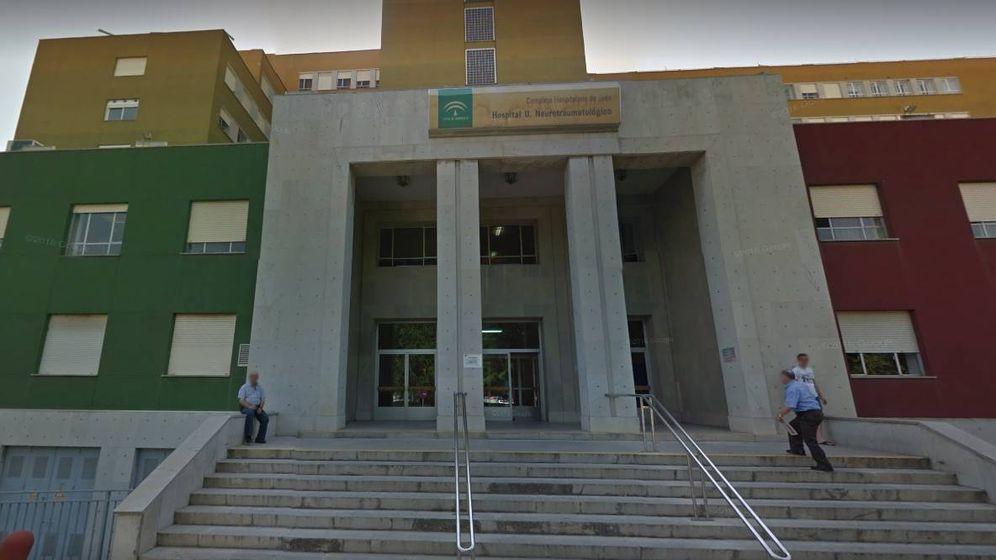 Foto: Hospital Neurotratumatológico de Jaén, donde una mujer ha agredido a personal sanitario. (Google Maps)