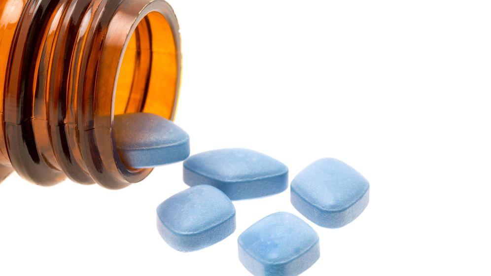 Foto: Pastillas de Viagra (iStock).