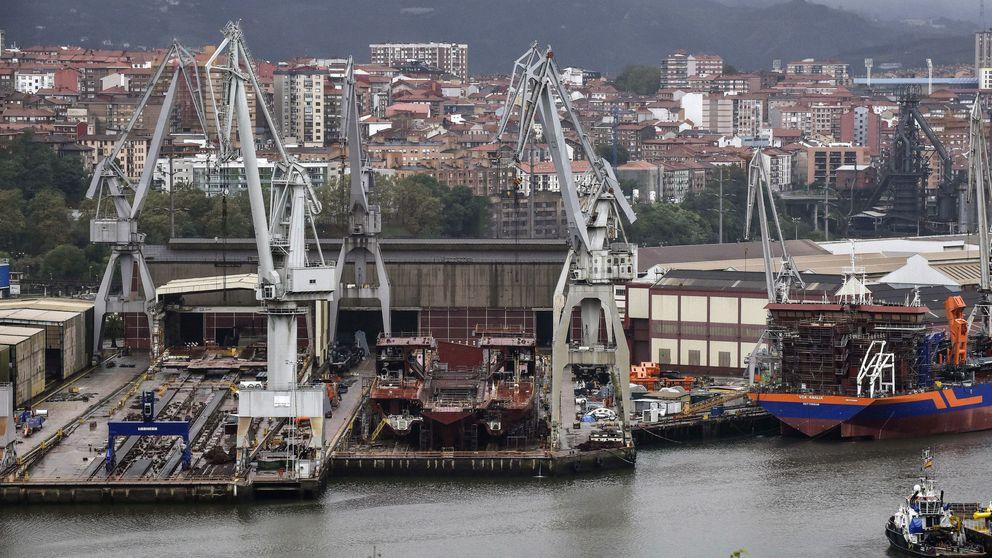 La banca vasca sortea la crisis de La Naval y pilla a Santander, Bankia, Sabadell y Caixa