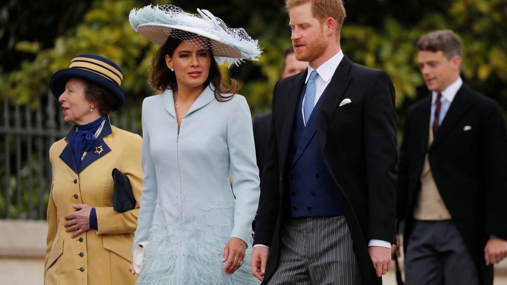 El príncipe Harry (sin Meghan Markle), la gran sorpresa de la boda de Lady Gabriella