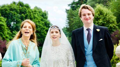 La boda real confinada de la hija de la reina Noor de Jordania