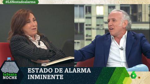 Angélica Rubio enciende la mecha de Eduardo Inda con una pregunta