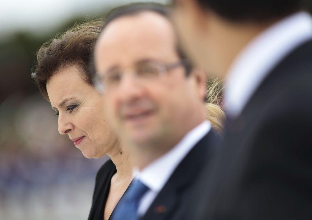 Foto: Valerie Trierweiler y su expareja, Francois Hollande, en una imagen de archivo (Reuters)