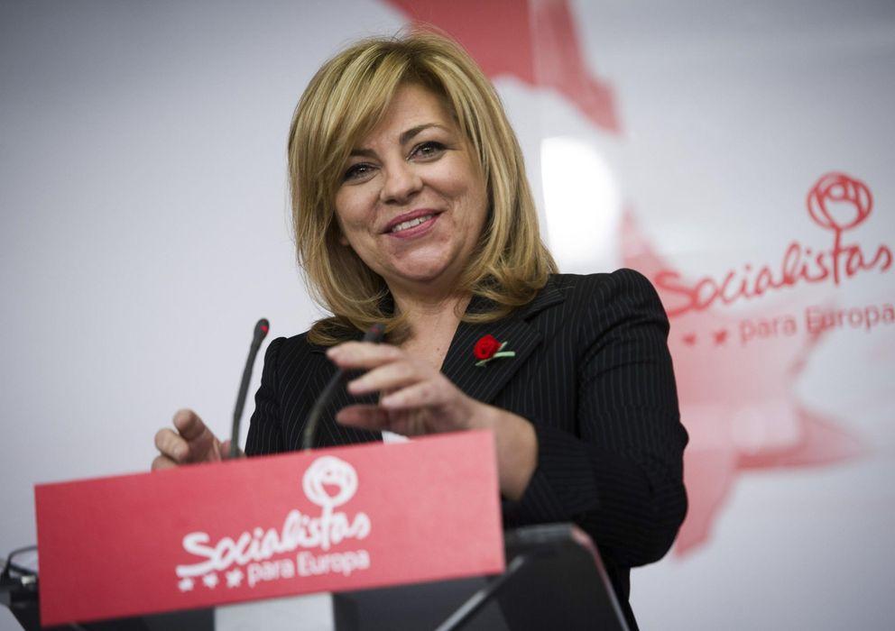 Foto: La candidata socialista a las elecciones europeas, Elena Valenciano. (EFE)