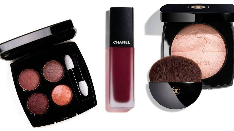 Los cosméticos utilizados en el maquillaje de Belén Cuesta. (Cortesía de Chanel)