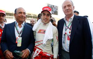 El Rey Juan Carlos 'revienta' una exclusiva a Fernando Alonso