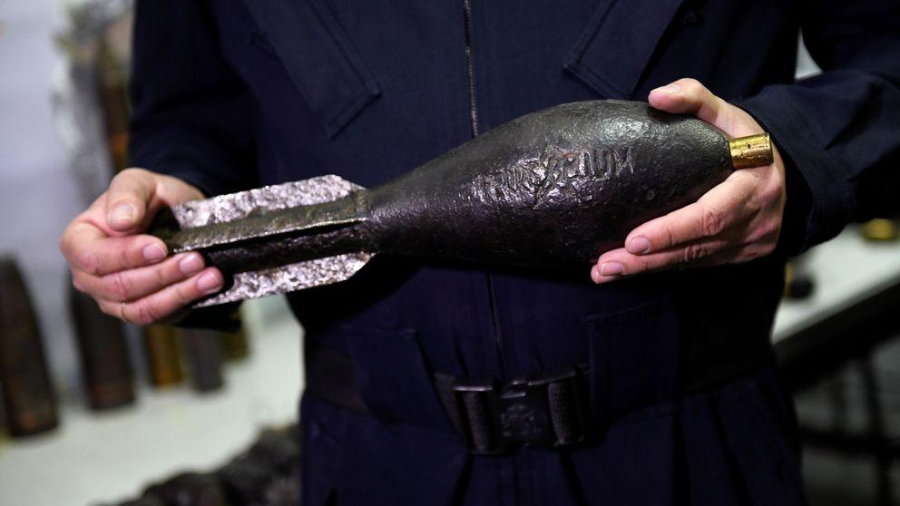 La Policía Nacional desactivan dos artefactos explosivos de la Guerra Civil
