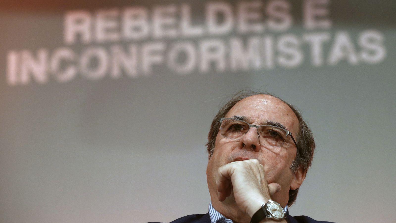 Foto: El portavoz del grupo socialista de la Asamblea de Madrid, Ángel Gabilondo. (EFE)
