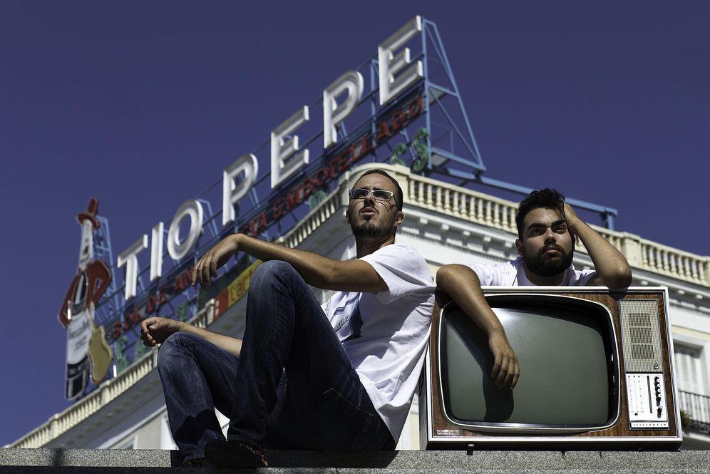 Foto: Diego Arjona y Álvaro Velasco, protagonistas de 'Spoiler'