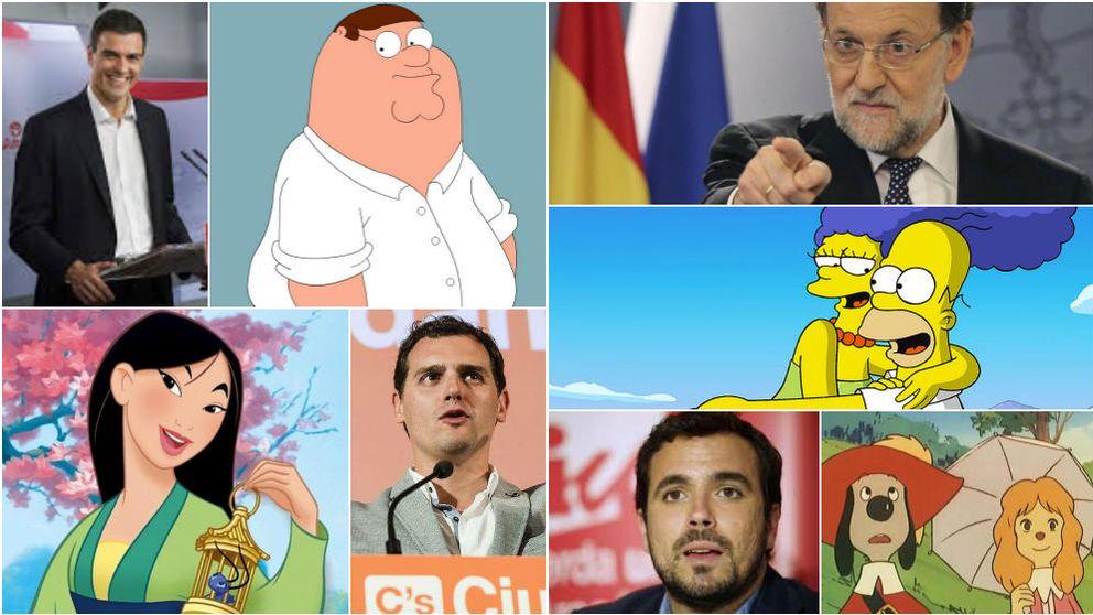 ¿Homer Simpson o Rajoy? ¿Peter Griffin o Rivera? ¿Sabe quién dijo qué?