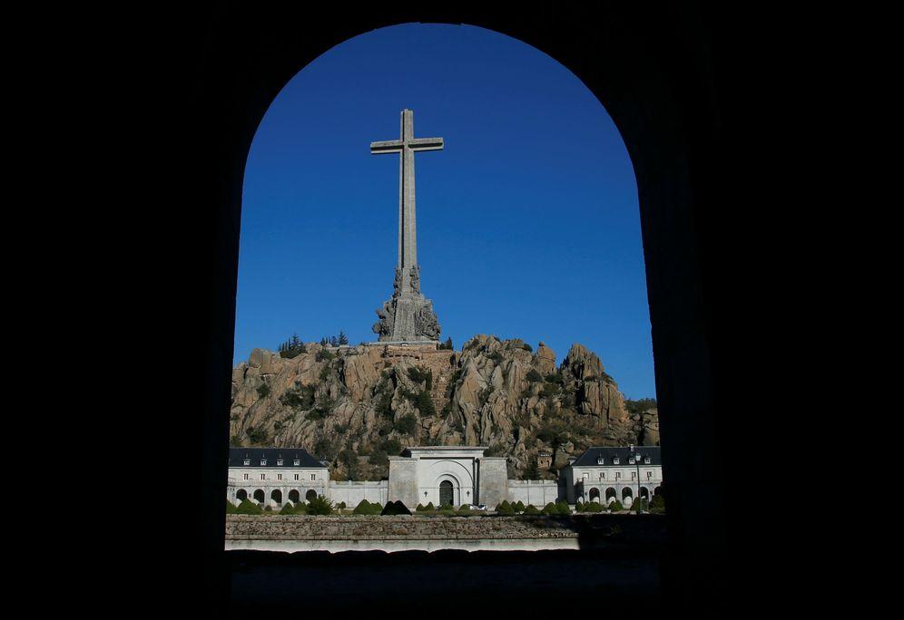 Foto: Vista general del Valle de los Caídos, el pasado 13 de octubre. (Reuters)