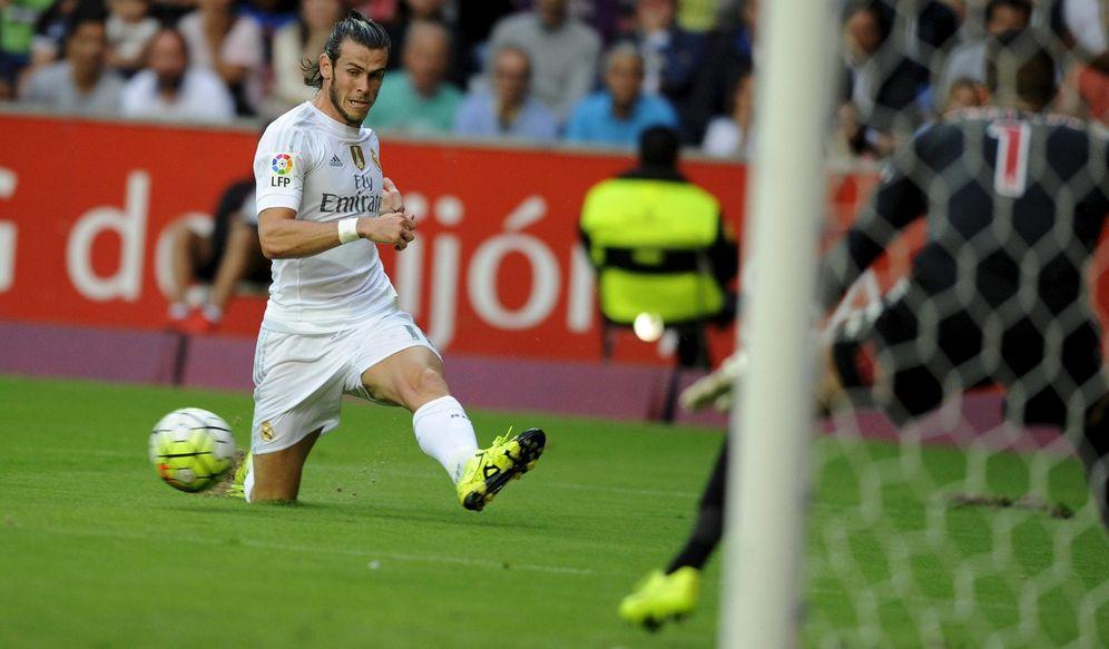 Foto: Gareth Bale, durante el Sporting-Real Madrid disputado en El Molinón (Reuters)