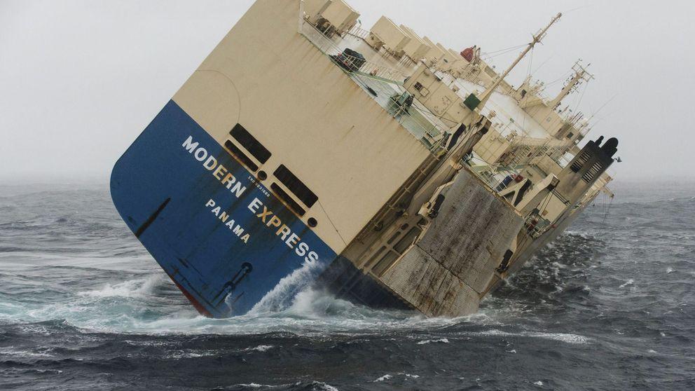 El 'Modern Express' no provocará una catástrofe como la del 'Prestige'